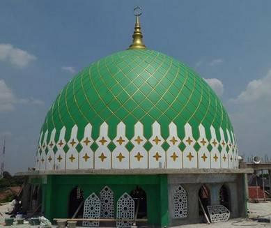 harga kubah masjid grc 1