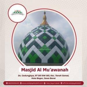 katalog kubah masjid
